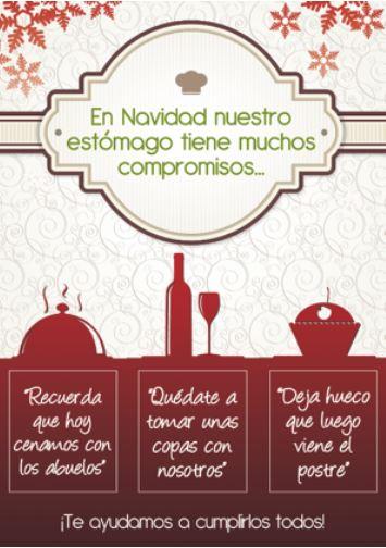 Consejos saludables para las comidas de Navidad farmacia Linaria